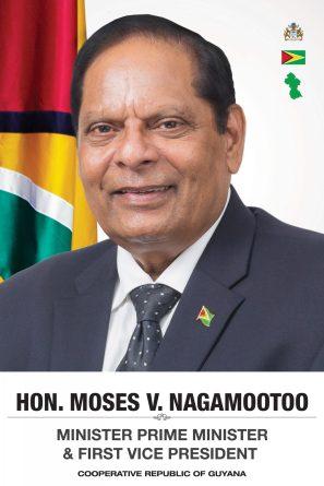 Moses Nagamootoo - Prime Minister