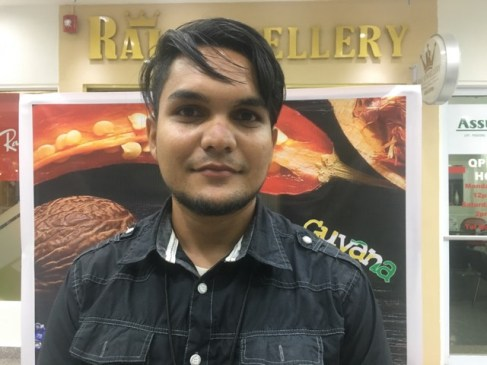 Young entrepreneur Kishan Ramesh