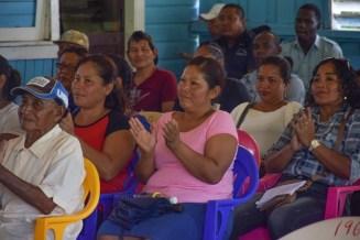 Orealla Residents at a meeting