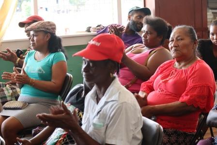 A section of the residents who attended the meeting
