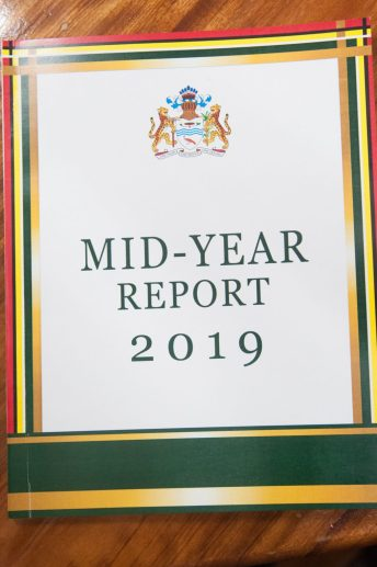The Half Year Economic Report produced by the Ministry of Finance