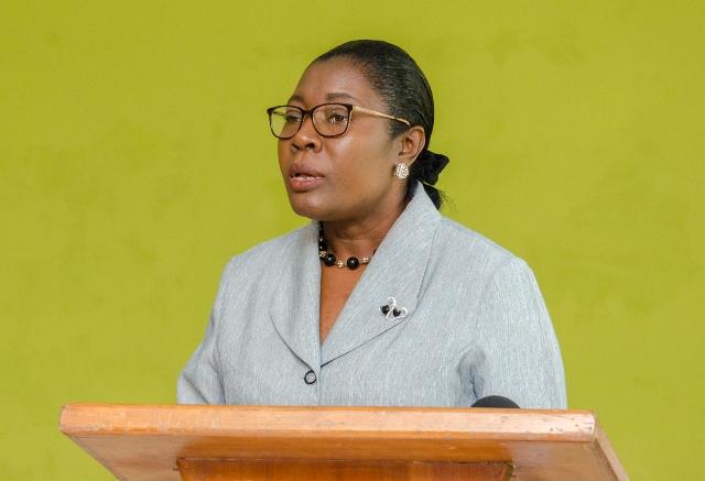 Region 3, Education Officer, Annesta Douglas.