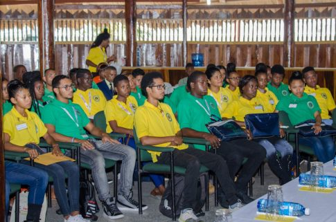 Participants form the third cohort of Youths in Natural Resources