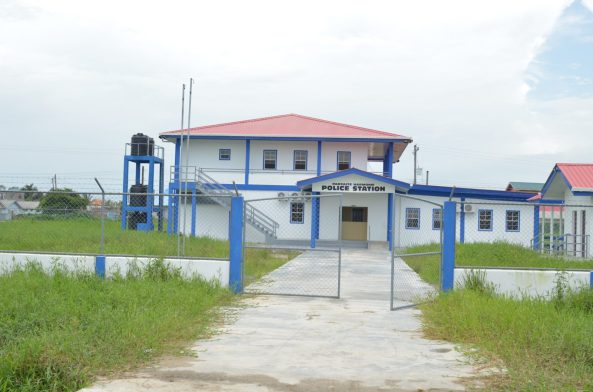 The police station set to be commissioned in La Parfaite Harmonie.