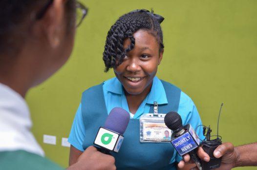 Student within Top 10, Athaliah Joe