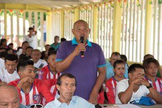 Ismael Abrams, community leader of Paruima