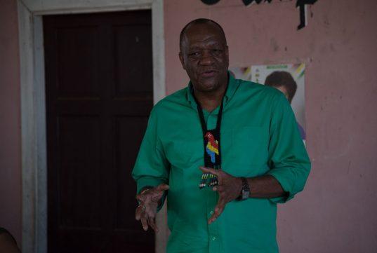 Director-General (DG) of the Ministry of the Presidency, Joseph Harmon