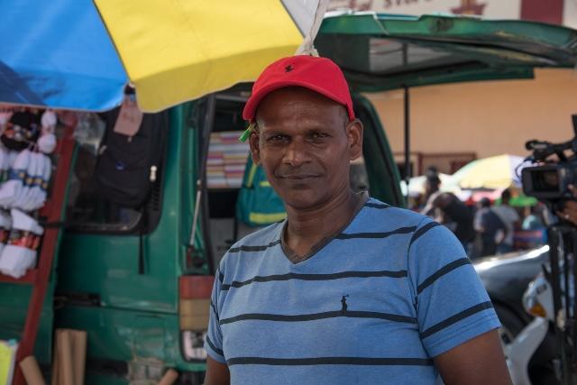 Naresh Partab, a vendor.