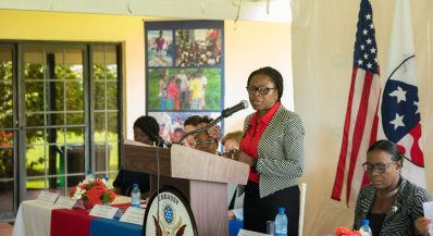 Deputy Chief Medical Officer, Ministry of Public Health, Dr. Karen Gordon