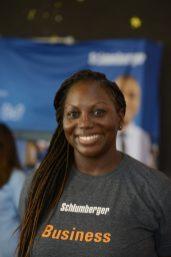 Schlumberger's Business Talent Acquisition Manager, Tandayi Jones