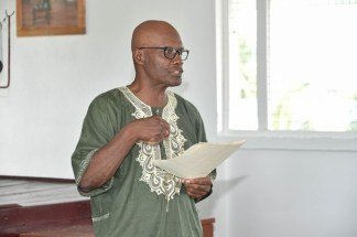 Mr. Desmond Saul, Principal of the Foundation for Real Christian Education (FORCE)