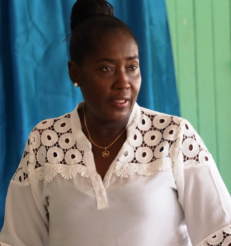 Rural Affairs Minister within the Ministry of Agriculture, Hon. Valerie Adams-Yearwood