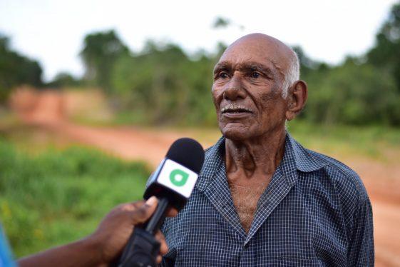 Pensioner in Wauna, Edward Ramsammy