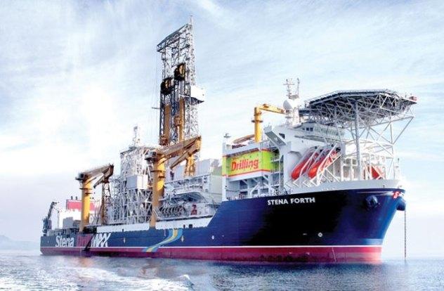 The Stena Forth Class 3 drillship.