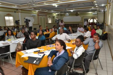 Stakeholders at the Geographical Indicators and Control workshop.