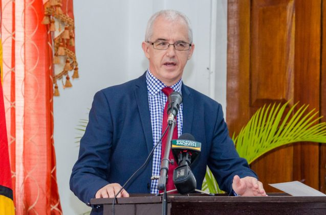 Deputy British High Commissioner to Guyana, Ray Davidson