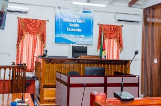 Inside the Sexual Offences Court.