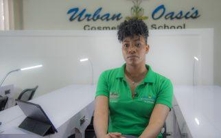 Jennelle Blackman-Jones, proprietor of Urban Oasis Cosmetology School