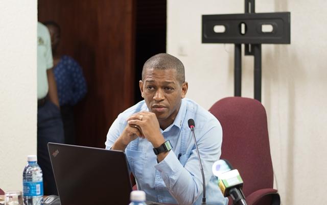 Director of Energy, Dr. Mark Bynoe.