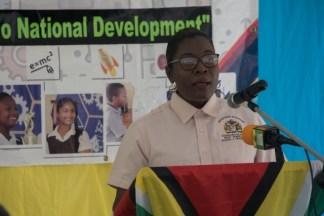 Annesta Douglas, Regional Education Officer (Redo) of Essequibo Islands-West Demerara.