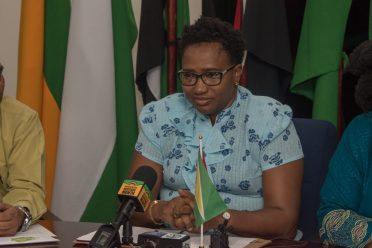 Minister within the Ministry of Communities, Hon. Annette Ferguson