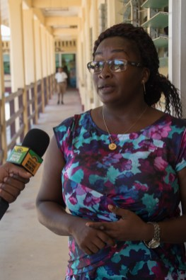 Deanne Retemiah, a Wakenaam resident