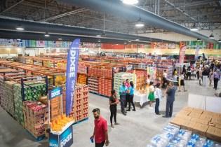 Interior shot of the Massy Mega Store at the MovieTowne Complex, Turkeyen, Greater Georgetown.
