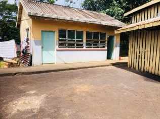 The poorly maintained and rundown Vector Control Unit in Matthew's Ridge which should be rehabilitated by the Regional Democratic Council (RDC).