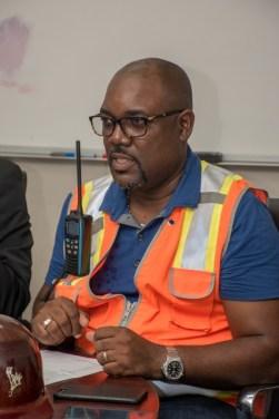 General Manager of Demerara Harbour Bridge (DHB), Rawlston Adams.