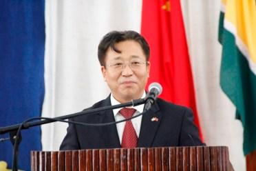 China's Ambassador to Guyana, Mr. Cui Jianchun