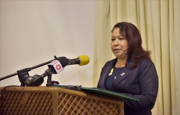 Minister of State, Hon. Dawn Hastings-Williams.