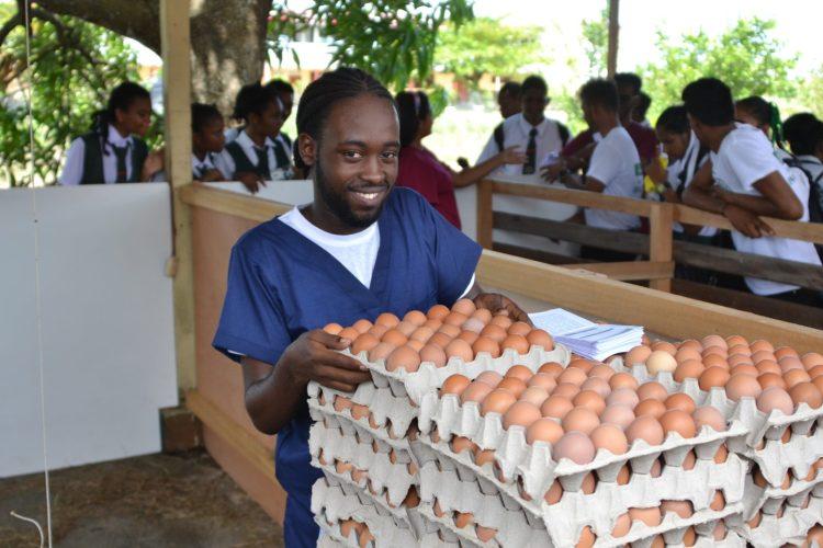 Learmond Braithwaite, a Veterinary Public Health Student, GSA.