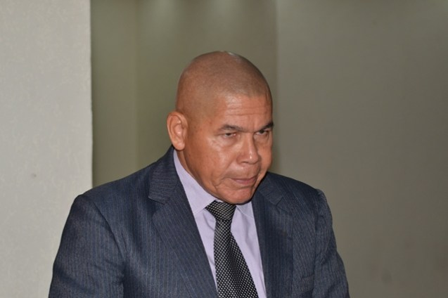 Minister of Social Cohesion with responsibility for Culture, Youth and Sport, the Honourable Dr. George Norton