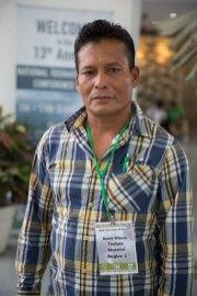 David Wilson, Toshao of Akawini.