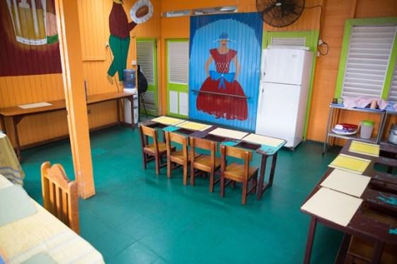 Inside the Ptolemy Reid Rehabilitation Centre.