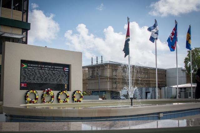 Air Cubana Monument Site, Turkeyen campus, University of Guyana.