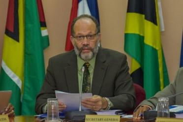 CARICOM Secretary-General, Ambassador Irwin LaRocque.