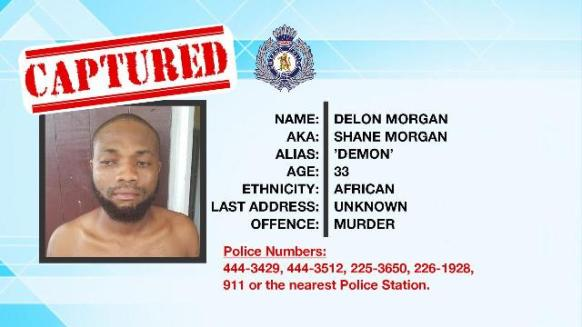 Delon Morgan, the suspected mastermind in the murder of gold miner, Deon Stoll.