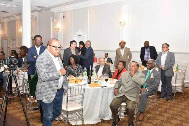 A section of attendees at the reception in honour of Prime Minister, Hon. Moses Nagamootoo.