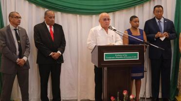 Cuba's Vice Minister of Foreign Trade and Investment, Roberto Lopez.