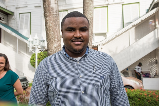 Jermone Mc Coy, travelled from the Cayman Islands to participate in the workshop.