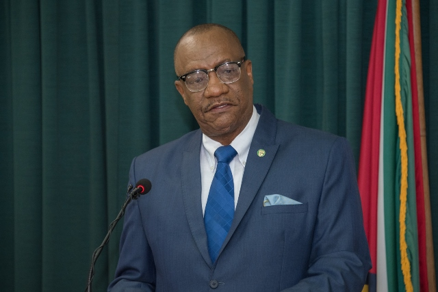 Director General of the Ministry of the Presidency, Joseph Harmon