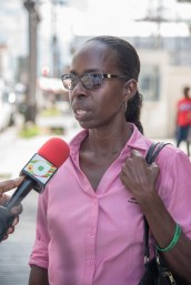 Andrea Jackman, who is one of the dedicated cleaners within one of the government ministries, said the salary hike will help her better manage her responsibilities.