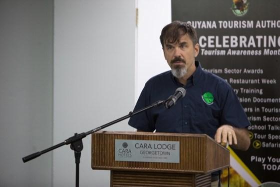 Director of the Guyana Tourism Authority, Brian Mullis.
