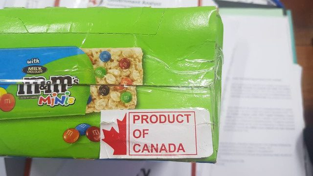 Rice Krispies Treats with Sticker
