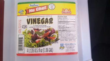 Misleading Label of Acetic Acid