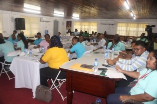 Participants at the training programme