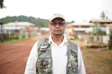 National Artisanal and Small-Scale Mining (ASM) Lead Consultant, Kemrai Parsram.