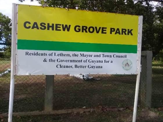 Cashew Grove Park