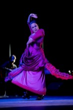 Sonia Olla during a performance